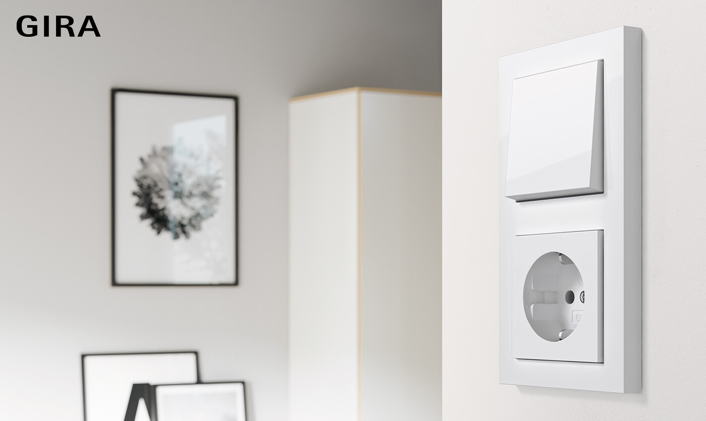 Gira E2's simple design has inspired interior lovers for over two decades.