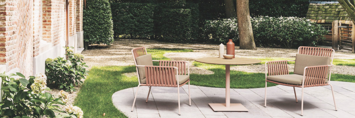 Homey outdoor furniture for the new garden season