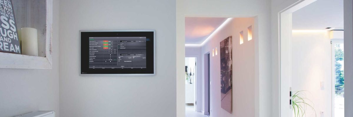 Asia style smart home features Gira Control Client 19