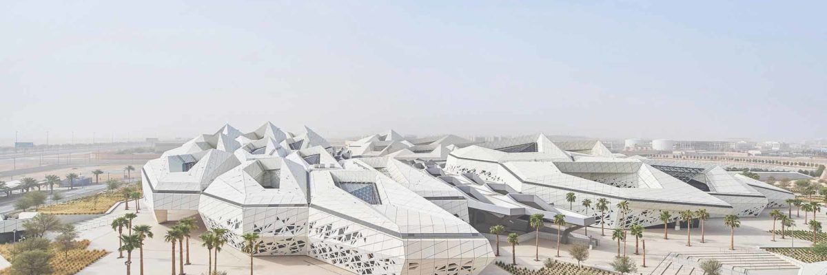 WAF 2018: Origami-inspiered design in Saudi Arabia