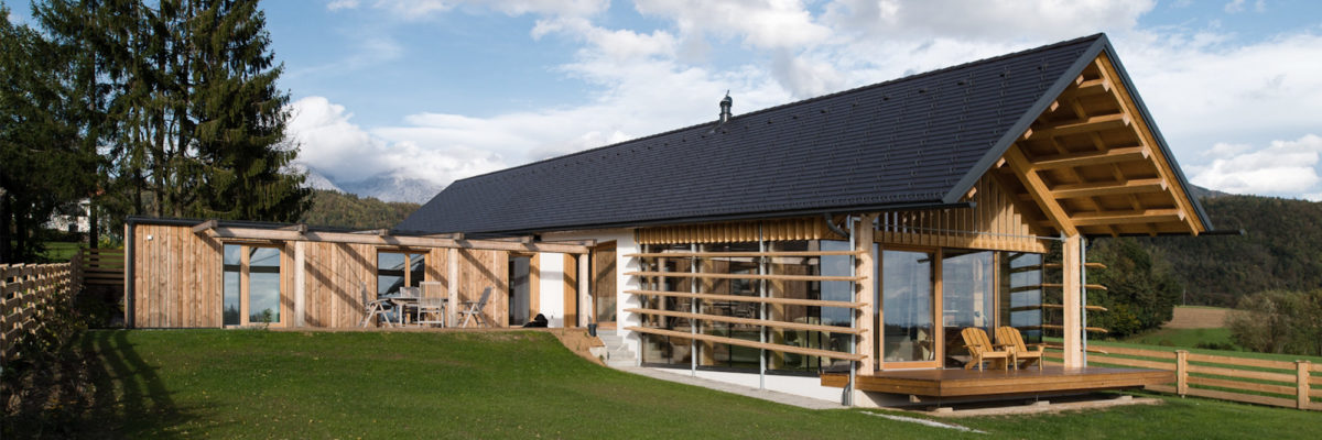 Smart home in the alpines: The old aged couple try to enjoy every second of their life in the peaceful but modern house