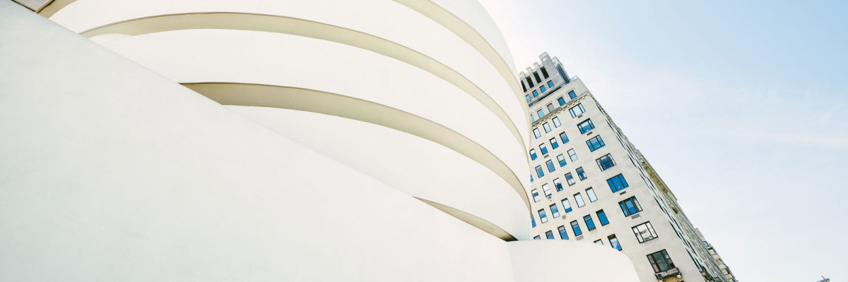 One of his famous builidings is the Guggenheim Museum.