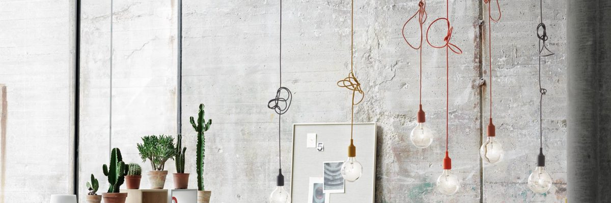 Classic design revival in industrial style.