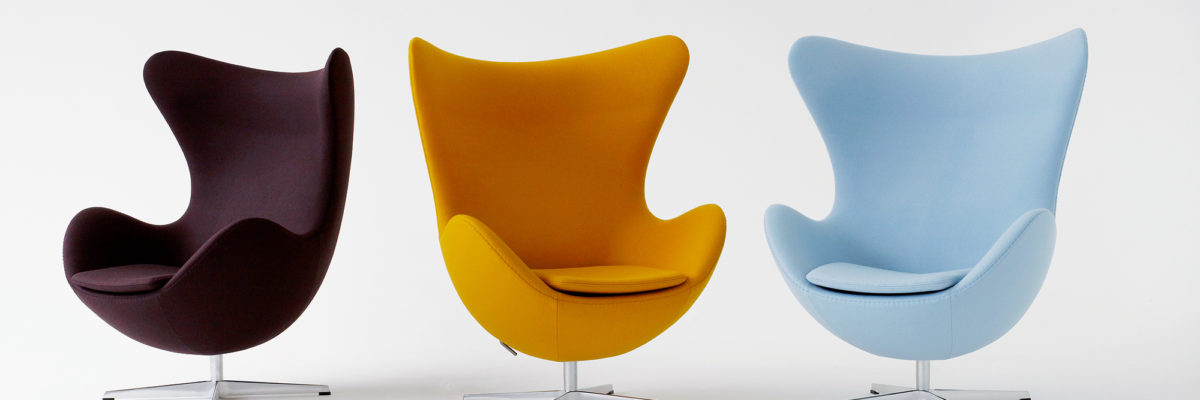 Pimp your home with the Egg chair, a classic design revival.