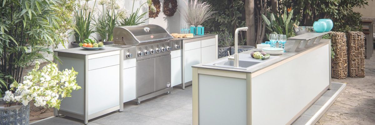Outdoor kitchen from Wesco.