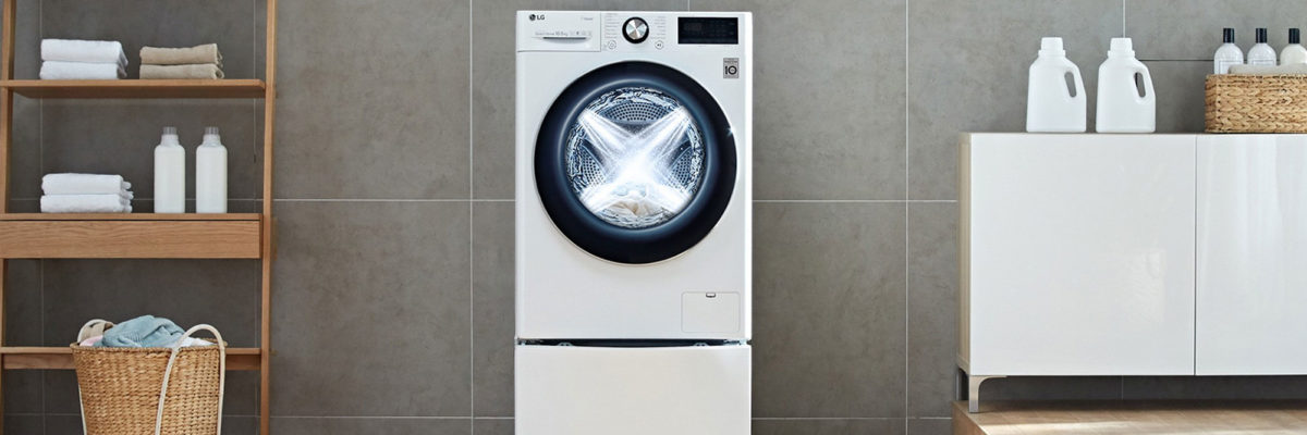 Another IFA Berlin Highlight 2019 is the new washing mashine from LG. She knows your favourite washing programm.