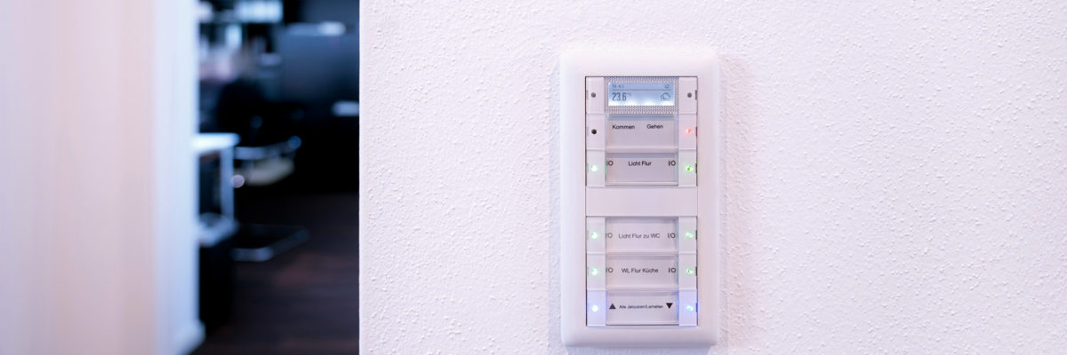 Smart Home control with a intelligent switch.