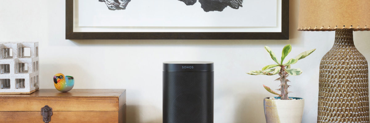 sonos speaker white background