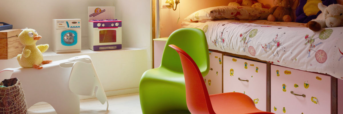 children's bedroom furniture and the Panton from Vitra