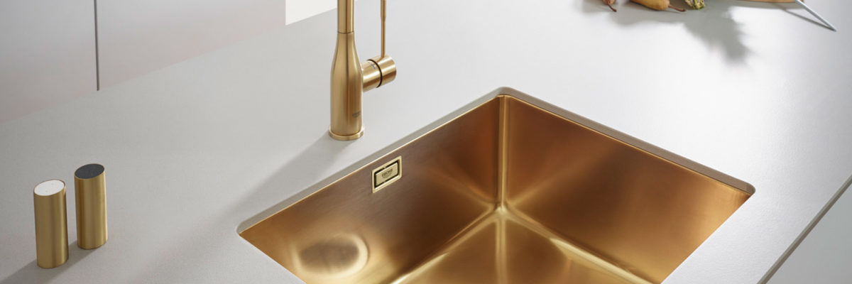 A great complement to your kitchen colours: the K700 in gold.