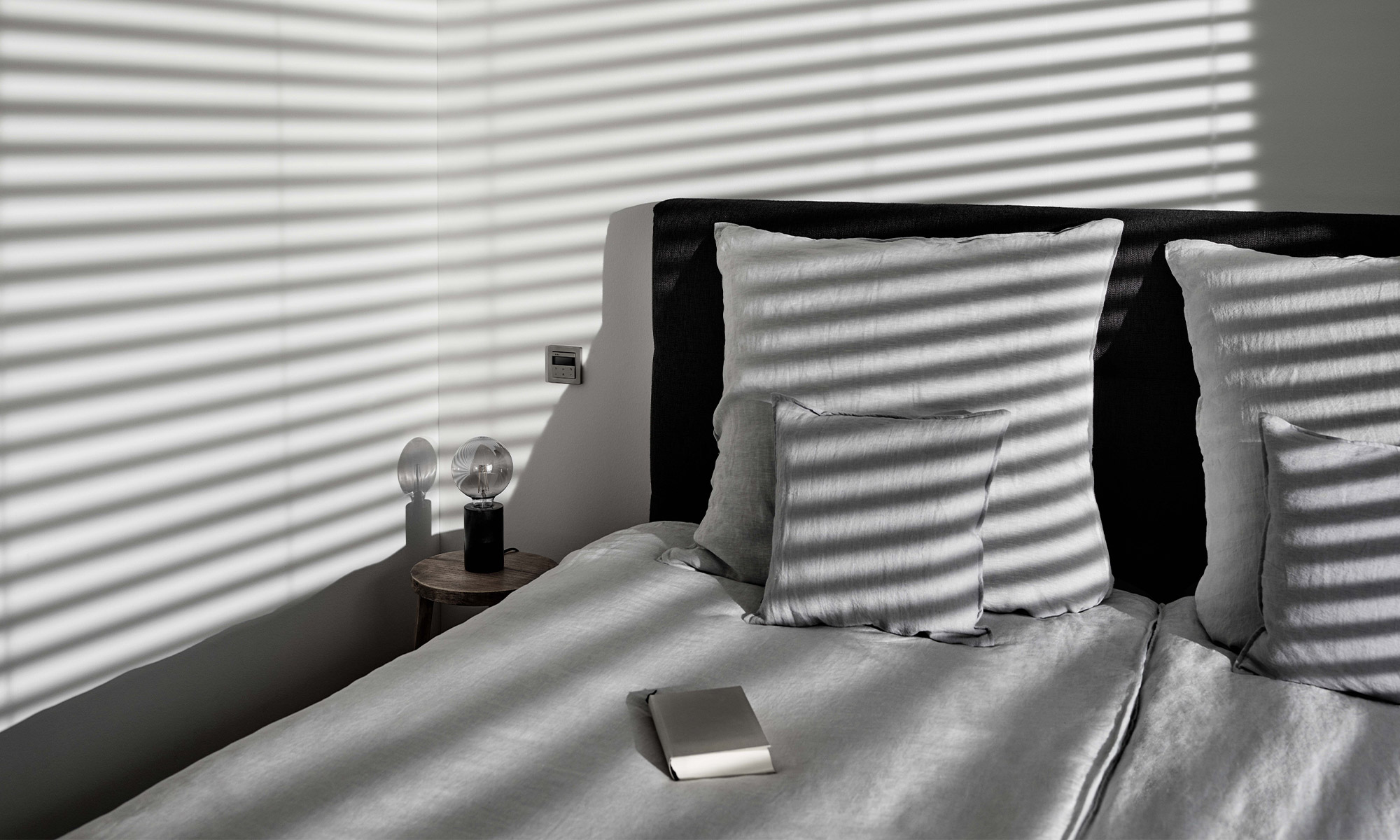automatic blind control bedroom blinds