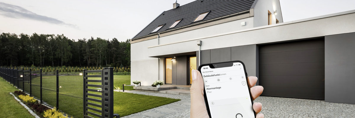 set up smart home smartphone