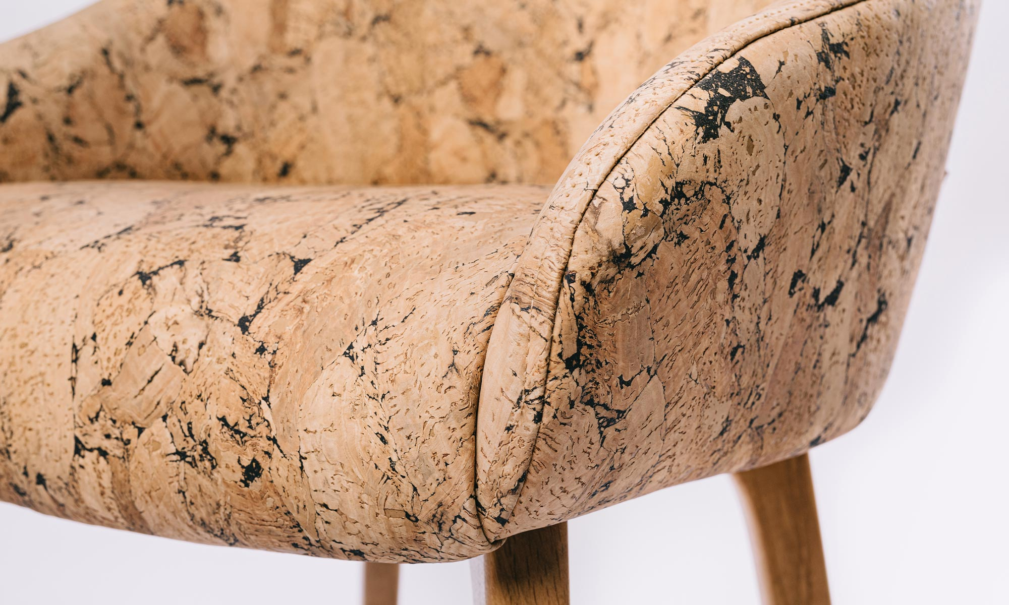 creative cork chairs close up
