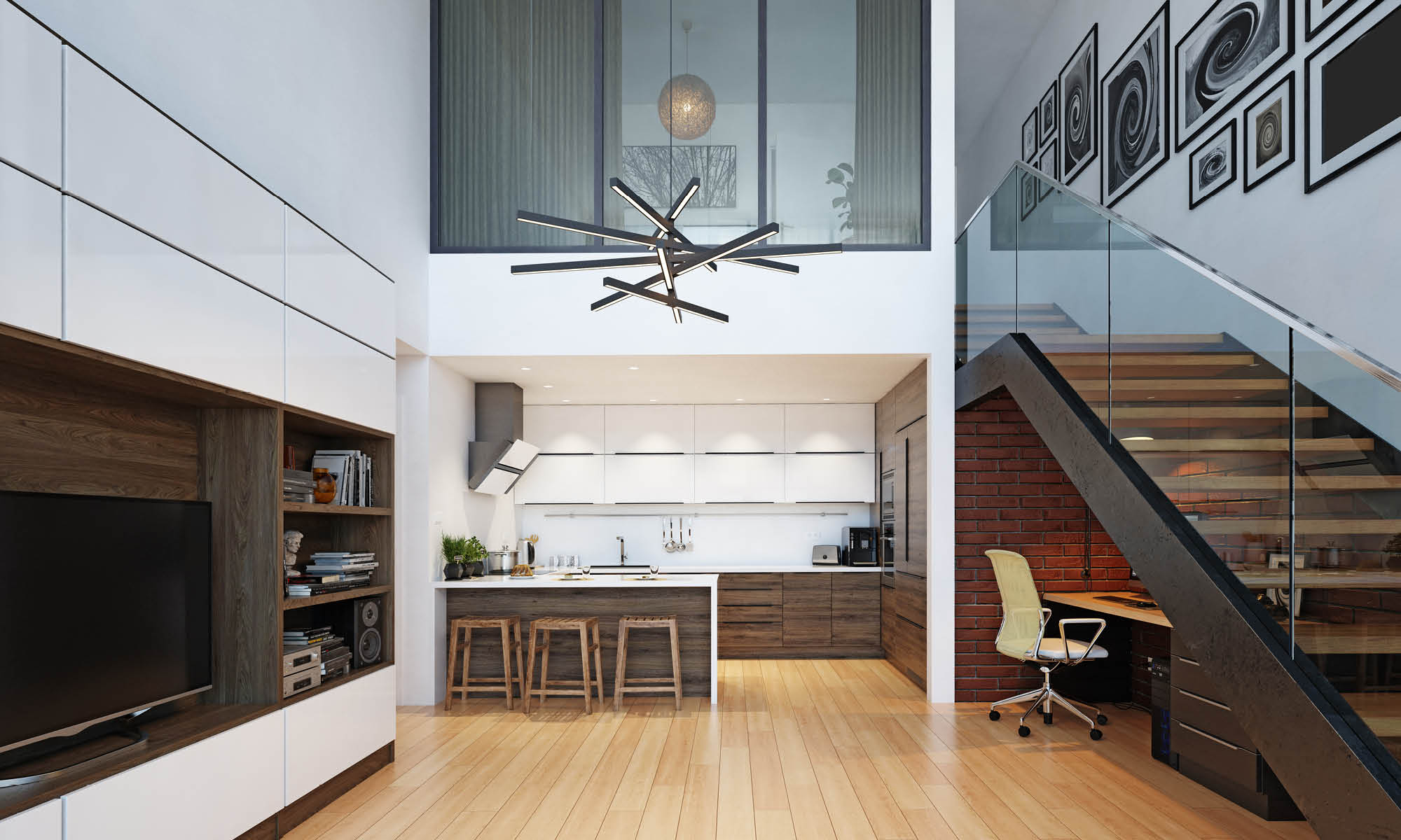 Staircase design ideas to make optimal use of space