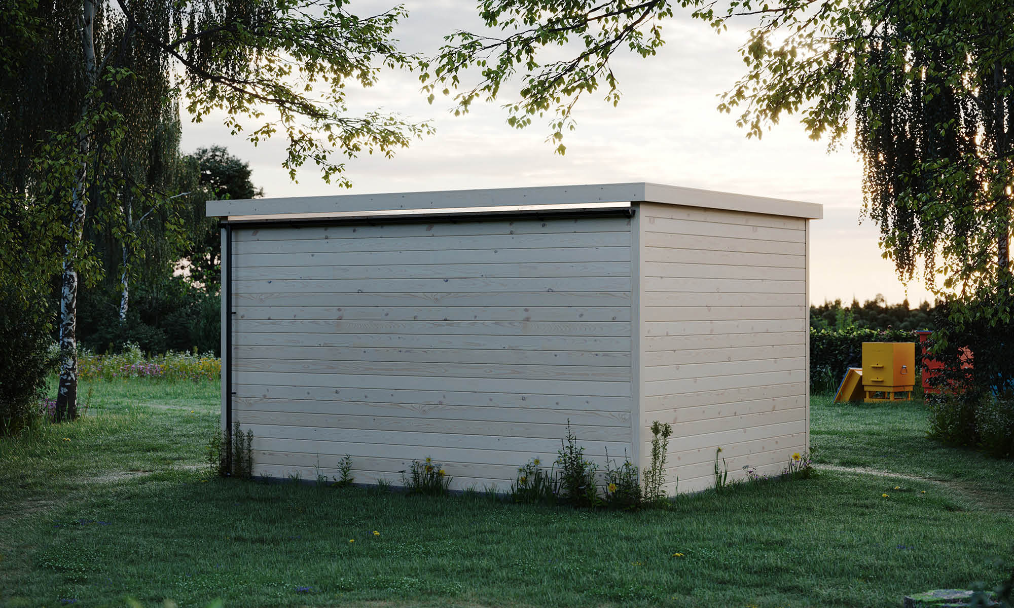 garden shed used as a she shed